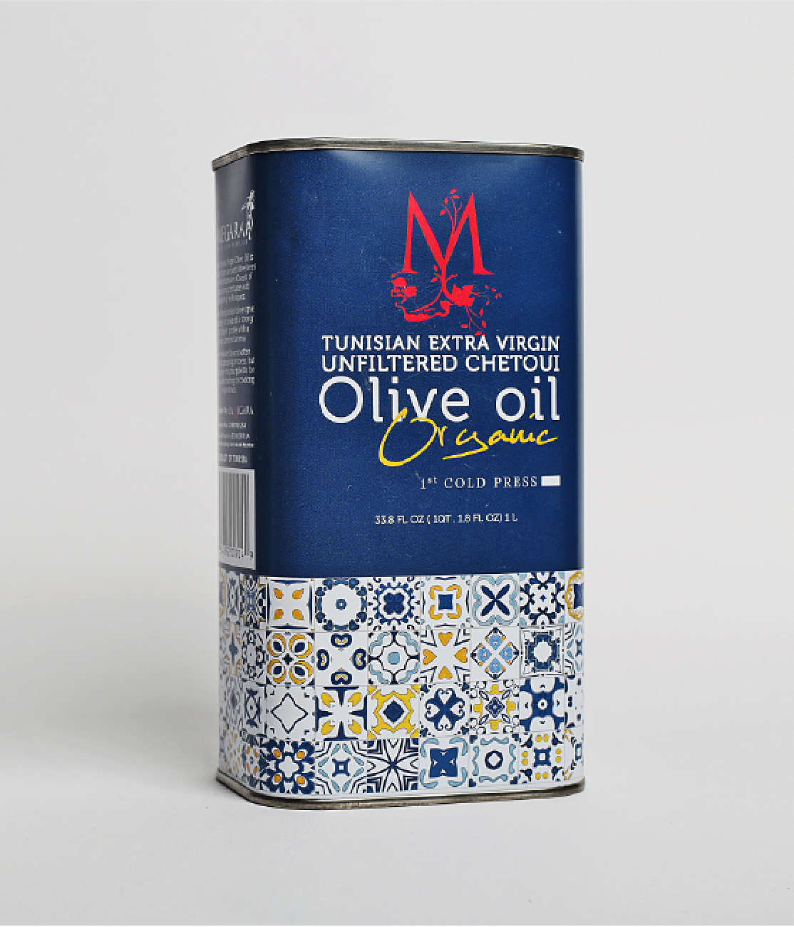 Tunisian Organic Extra Virgin Unfiltered Chetoui Olive Oil Image 0