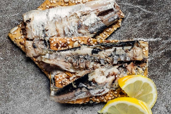 Gourmet  Mediterranean Sardines With Lemon Packing